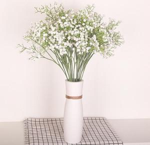 artificial decoración flor mantianxing intercalación de plástico flor de la boda mesa de casa Gypsophila babysbreath GB1251