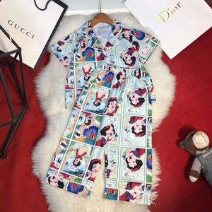 Fashion Designer Filles Garçons Pyjamas Ensembles Cartoon enfants Tops + Costumes Pantalons Vêtements pour bébé de couchage pour enfants 2020 Hot enfants Accueil Porter