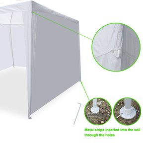 10 x 20' al aire libre del partido Gazebo Tienda w / 6 paredes laterales boda Canopy Cater Eventos