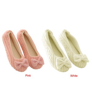 JAYCOSIN bella Ladies Home Piano morbida Pantofole donna in cotone imbottito Bow antiscivolo tenere in caldo Scarpe inverno pantofole donne