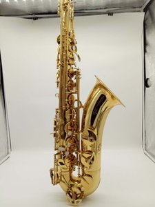 야나기사와 테너 색소폰 TWO30 은제 골드 래커 키스 색소폰 테너 마우스 피스 갈고리 목 관악기 액세서리