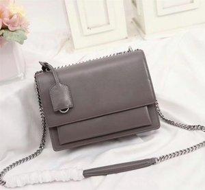 High quality flap bag luxury designer handbags SUNSET original leather women shoulder bags fashion medium crossbody bag
