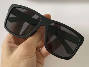Прохладный Мужчины матовые черные солнцезащитные очки 1124 / с Sonnenbrille оттенков моды солнцезащитные очки очки для мужчин Gafas де золя новый с коробкой