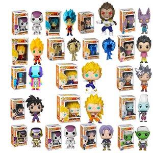 Funko pop Dragon Ball Dead Yamcha PORUNGA SUPER SAIYAN GOKU Golden FRIEZA GREAT VEGETA Vinyl Action Figure Collectible Model toy Y200703
