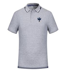 monterrey 2020 spring and summer new cotton football polo shirt men's short sleeve lapel polo can be DIY custom men's polo