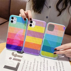 Rainbow Cell Phone Cases Soft Cases For iphone 11 X / XS MAX / XR 8/7 Plus Cell Phone Superies Shock Protector Back Cases
