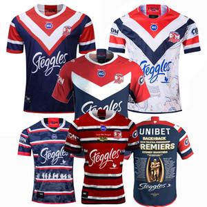 Novos 2018 2019 2020 2021 GALOS SYDNEY rúgbi Jerseys NRL Rugby campeão League jersey formação 19 20 camisas