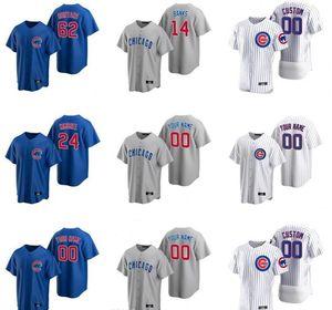 2020 Nicholas Castellanos Jersey Mens Victor Caratini Kerry Wood Mark Grace Ron Santo Sammy Sosa Ian Happ Baseball camisas personalizadas costurado