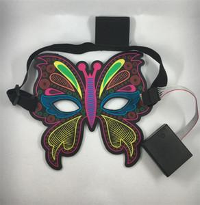 2020 US Donald Trump Mask Butterfly Glow Maschere divertenti per adulti Dancing Party Half Full Face 2 Stili scelti 33qy E1