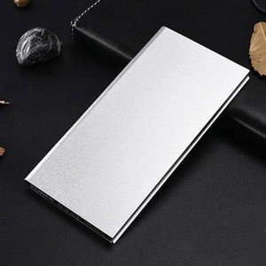 20000mAh Power Bank Ultra-thin LCD Display Portable 2 USB Ports External Battery Pack Charger Power Bank for all Mobile Phones
