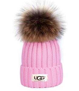 Mode m0ncIerr Luxus Designer Winter-Kanada Männer Beanie Mütze Frauen Lässige Strick Hip-Hop-Gorros Bommel Kalotte Haar Ball im Freien
