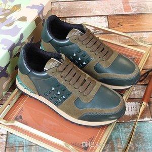الشحن مجانا جودة عالية 2020 مصمم أحذية رجالية عادية في سوبر ستار سكيت أحذية شقة رجالية عادية الأحذية التمويه أحذية رياضية