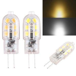 يعتم لمبة LED 5W G4 G9 ضوء لمبة DC 12V LED مصباح SMD2835 أضواء الثريا الإضاءة استبدال 20W 30W الهالوجين مصباح