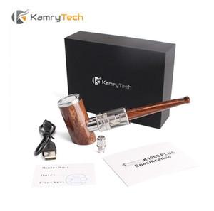 정통 Kamry K1000 Plus Epipe 키트 1000mAh 배터리 4ml 분무기가 장착 된 목재 그레인 바디 키트 최대 35W 최대 출력