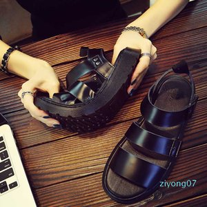 35~45 Unisex Genuine Leather Cowhide Women Beach Shoes Summer Outdoor Sandals Men Sport zapatos mujer Shoes Sneakers sandalias z07