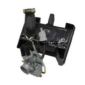 Motorcycle Throttle Cable Assembly Carburetor Carb with air filter Y-Zinger For PW80 1996-2006
