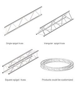 Алюминиевая система ферменной конструкции тотема Spigot 300*300mm, 400*400mm