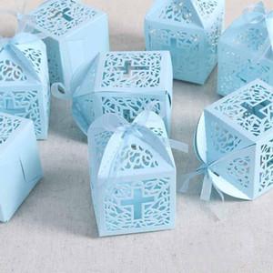 10 pezzi sacchetto regalo caramelle croce battesimo battesimo battesimo baby shower ragazzi ragazze bambini primo compleanno matrimonio doccia chiesa favore