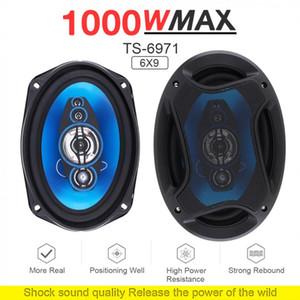 1 par de 6x9 polegadas 1000W 2 Stereo Way Car Coaxial Auto Áudio Música Full Range Frequency Hifi Speakers instalação não-destrutiva