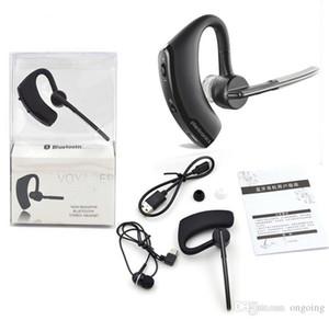 Auricular Bluetooth Voyager leyenda de texto y de reducción de ruido Auriculares estéreo para el auricular de Iphone HTC Samsung Galaxy