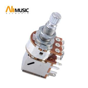 10pcs A500K / B500K Push Pull guitarra Pot controle do potenciômetro guitarra Parts
