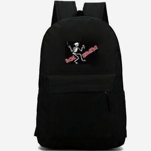 Mochila de Distorção social Mike Ness daypack Punk rock imprimir mochila Banda mochila de lazer Saco de escola de esporte Pacote de dia ao ar livre