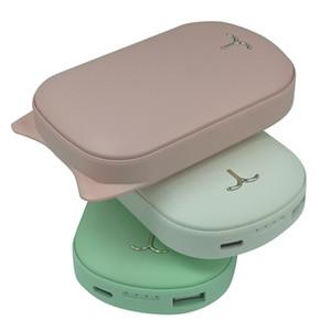 Schnell Warm tragbare USB aufladbare Elektrohandwärmer 3600mAh Warmer dauert 4 Stunden mit 5V2A Eingabe / Ausgabe