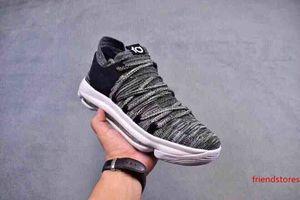 Zapatos Kevin Durant X VII EP KD7 baloncesto kd 10 X Elite Rainbow Oreo Negro Oro zapatillas de deporte