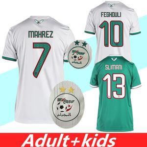 campeão africano 2019 de 2 estrelas Argélia Futebol CAN Mahrez BRAHIMI BOUNEDJAH BOUAZZA 19 20 algerie JERSEY camisas de futebol