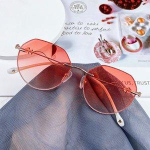88128 Красный пункт полигональной сетки с храмовой алмаз оправы очки кадр очки люминофор фея очки