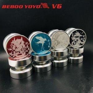 Nuovo Beboo v6 Pressional yoyos metallo yo-yo del cuscinetto in lega di alluminio Yo YO10 professionale Yoyo Yoyo metallo di alta qualità Giocattoli Classic T200116