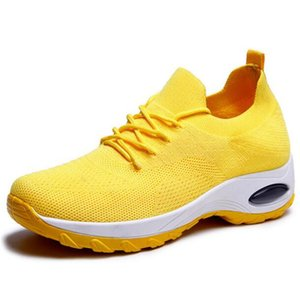2020 New Best-selling Breathable and Comfortable Air Mesh Women Sneakers Shoes Casual Shoes Light Soft Bottom Air Cushion Shoes