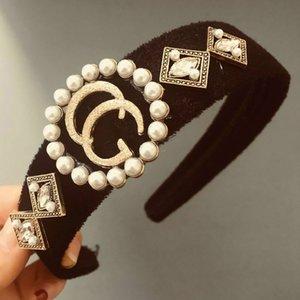 2020 Heißer Verkauf neuer Designer Stirnband Fashion Hauptband-Haarbänder für Frauen-Mädchen-Retro Turban Haarspangen Geschenke