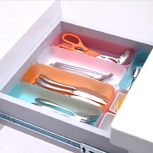 yq01773 vano portaoggetti della casa della cucina cassetto di plastica divisore dell'organizzatore di caso di immagazzinaggio cassetto Jewerly Storage Box Strumento