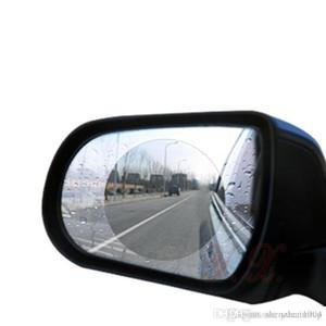 세트 자동차 오토바이 백미러 비 필름 스티커 직경 10cm 방수 안티 - 안개 안티 스크래치 필름 스티커 교체 자동차 액세서리