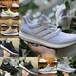 Wholesale 2020 New 3.0 4.0 Ultra Boost Running Sports Shoes Men Women High Quality 4 III White Black Athletic Shoes Fashion Casual Sneakers