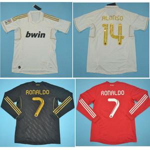 Top 11 12 Real Madrid Retro formaları RONALDO KAKA Futbol forması bağbozumu klasik 2011 2012 Zidane BECKHAM camisetas gömlek