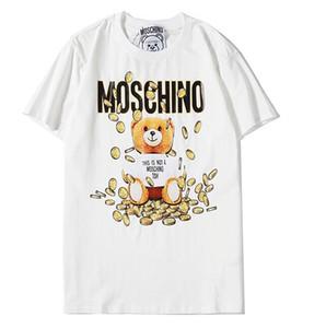 2020 top Luxus Designerss Frauen-T-Shirts Sommer-T-Shirt FashionT Hemd Hip Hop Männer Frauen Schwarz Kurz Funny Shirts