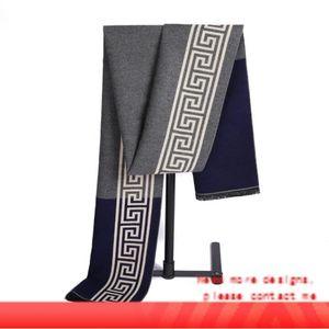 Designer Herren Designer-Schals 12 Styles Geometric Cashmere wie Scraf Kostenloser Versand Winter Classic Business Men Tücher
