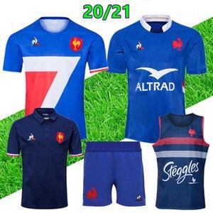 20 neue 21 Männer Rugby-Trikots Top-Qualität 2019 2020 2021 Rugby-Shirts Rugby Größe S-3XL