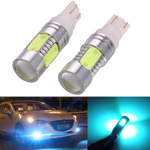 2X T10 W5W 194 168 7.5W COB LED High Power Car Auto Wedge Side Lights Reverse Parking Bulb Backup Lamp DC12V Ice Blue