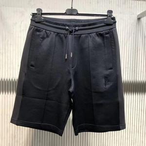 20SS France Shorts solide haut de gamme Survêtement Pantalon taille élastique Rue d'extérieur Pantalons Sport Drawstring court Conseil Shorts HFYMKZ223