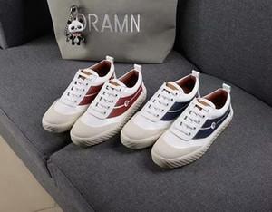 2019 Высокое качество повседневная женская классическая обувь Pure White Low Luxury Дизайнерские кроссовки Женская мода в корейском стиле n720