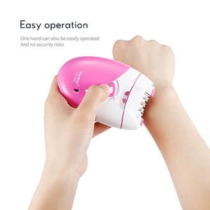 Kemei 189A US Bureau of Km-189 Kemei facciale elettrico di rimozione dei capelli di ricarica USB pinzette Epilator del dispositivo di rimozione dei capelli