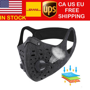 Cycling Face Masks Running Bicycle Mask Sport Training MTB Road Bike Protection Mask Anti-Dust Pm2.5 Cover Breathable Activated Carbon DHL