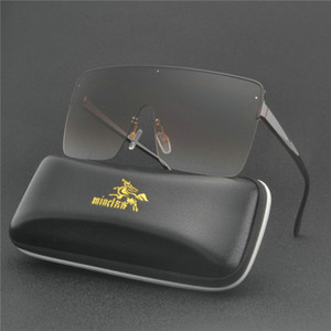 Vintage Retro Shield Visor Mask Sunglasses Women Men 2019 Oversized Windproof Glasses One Peice Big Frame Goggles Sun Glasses NX