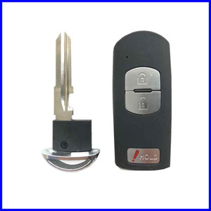 Запасной корпус для ключей от автомобильного ключа Fob для Mazda 3 5 6 CX-5 CX-7 CX-9 RX8 Miata MX5