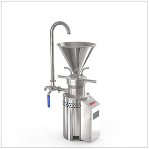 Commercial automatic chili paste sauce almond nut milk machine peanut butter making machine sesame tomato grinding machine colloid mill