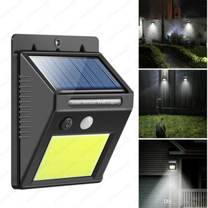 48LEDs 방수 야외 벽 LED 태양 밤 빛 PIR 모션 센서 자동 swith를 태양 램프 베란다 거리 울타리 정원 용 조명 무료 배송