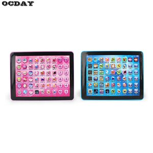 Baby Kids Touch Tablet Pad Educational Toys Learning Reading Machine English Chinese Early Learning Machine For Kids Children